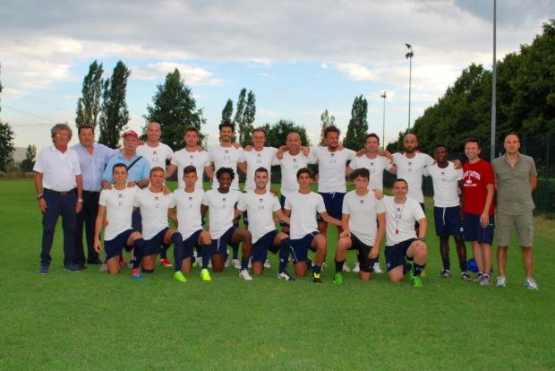 Primo allenamento 2015/2016
