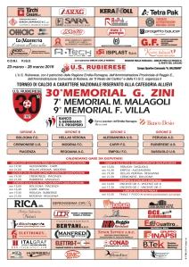 Locandina Torneo Zini 2016