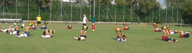 Folgore Juniores - allenamento 3