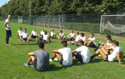Folgore Rubiera 2 - Raduno Semeraro con la squadra