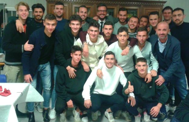 Cena Rubiera - foto di gruppo Prima squadra