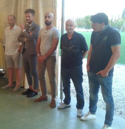 San Fao - da sx Mattioli, Dallari, Greco etc